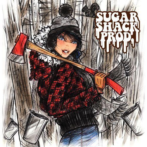 spring fashion illustration / sugar shack / countrysde fashion