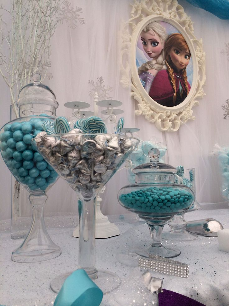 Frozen Candy Buffet by Bizzie Bee Creations