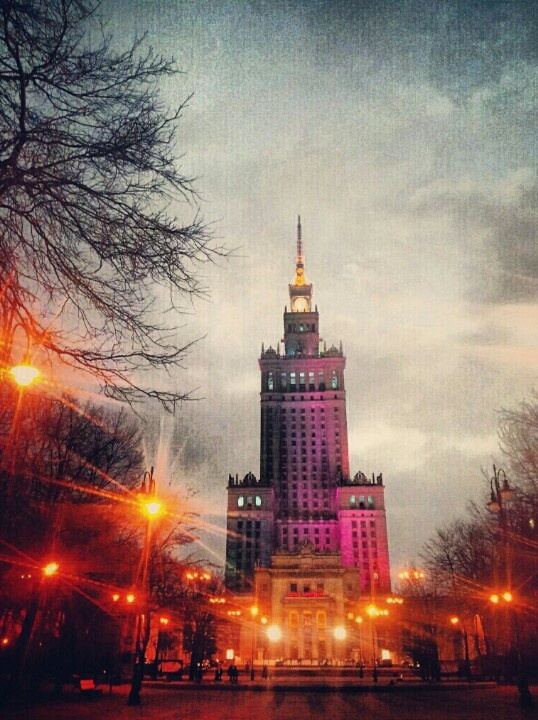 Palace of Culture and Science, Warsaw Poland