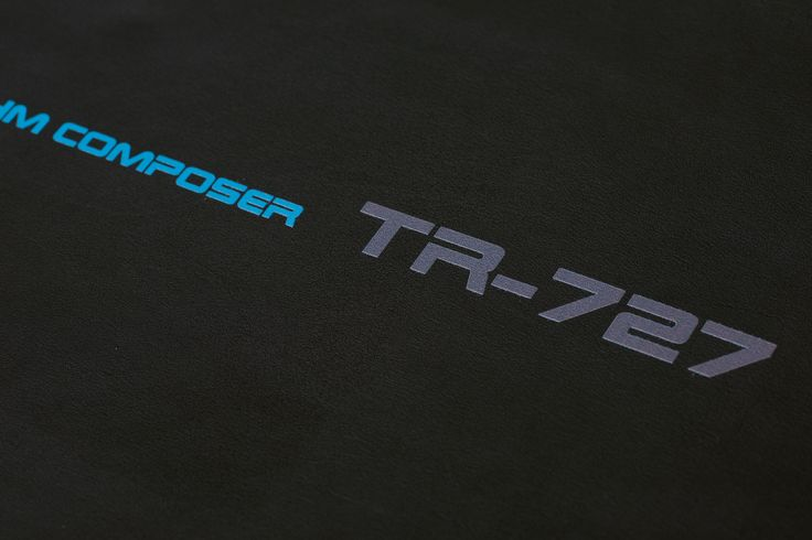 Stardust Covers | TR-727 Print Detail