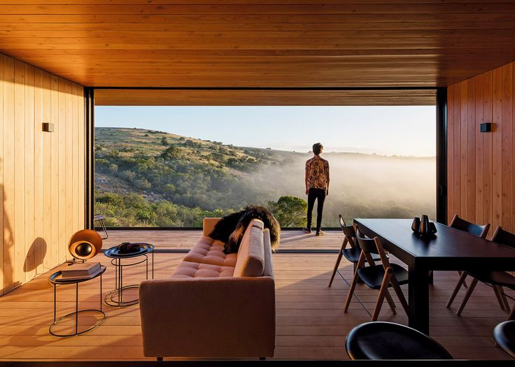 MAPA designs prefabricated house for Uruguayan olive grove surrounded by rolling hills