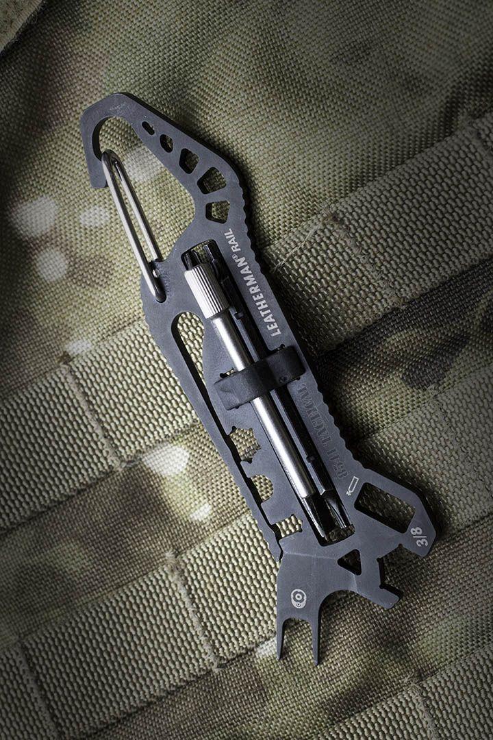 Leatherman - Rail Pocket Tool, Black with Molle Black Sheath