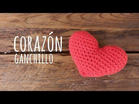 Tutorial corazón ganchillo | Crochet técnica amigurumi | Manualidades