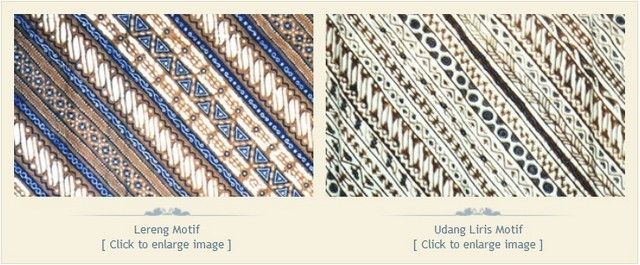 Makna Filosofi dan Cerita di Balik Berbagai Motif batik   seri Lereng   Tentang Batik   Museum Batik