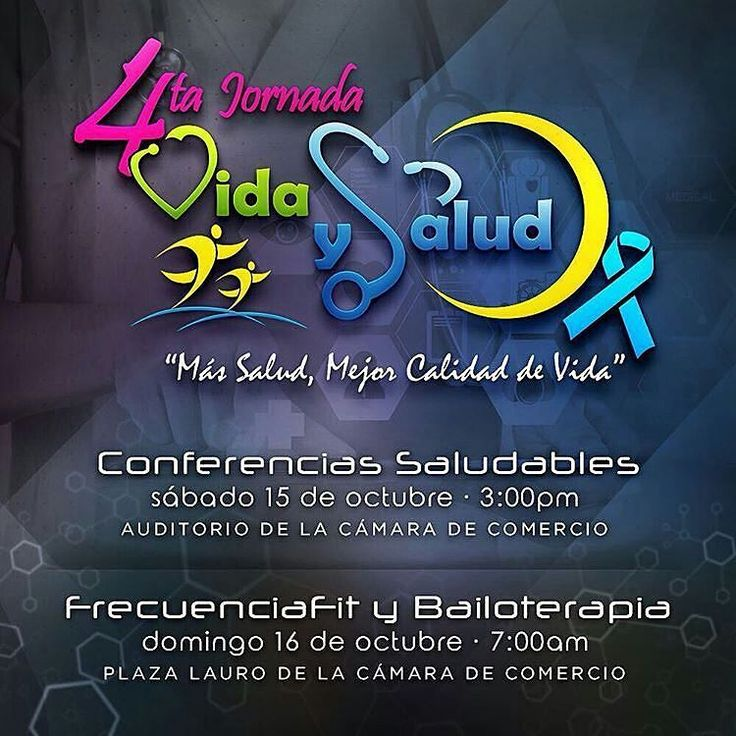 @Regrann from @fundacamaradecomerciocb -  La Fundación Social Cultural de la Cámara de Comercio invita a Toda la Colectividad a que participe en la 4ta Jornada Vida y Salud  que este año se une a la Campaña de Concientizacion de la Diabetes por lo que comenzaremos ofreciéndoles un Ciclo de Conferencia con : .- Dr Marcos Lima @marcoslimamd / Endocrinologo .- Dra Nathalie Balladares @natballadaresnutricion / Medico Cirujano Especialista en Nutrición .- Coach Jose Ferreira @joseferreiracoach…