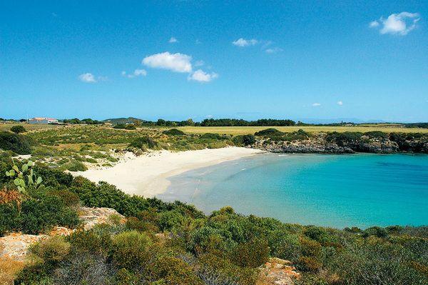 Spiaggia La Bobba, Carloforte, Sardegna