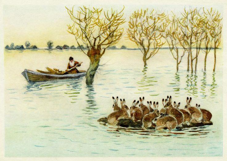 Картинки к дед мазай и зайцы некрасов