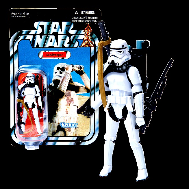 Star Wars Sandtrooper.: Winter Time, Star Wars