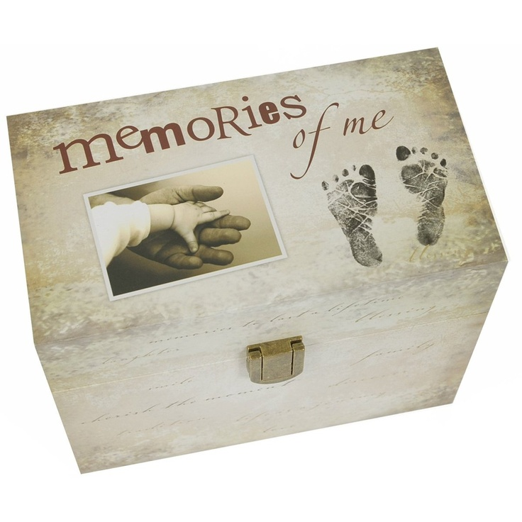 Really cute spin on a baby keepsake book.  Will definitely want this!
