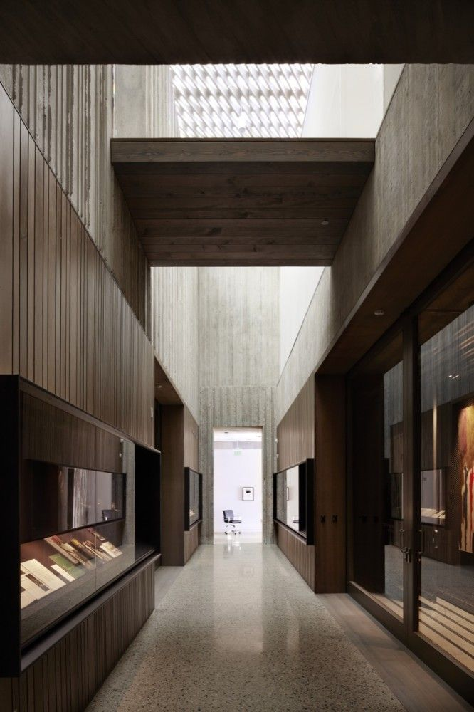 Lofty height. Clyfford Still Museum / Allied Works Architecture.