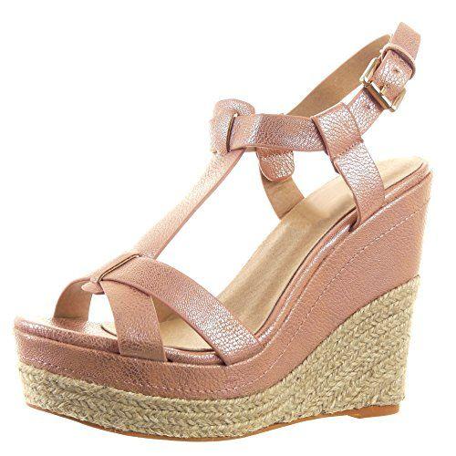 Sopily - Scarpe da Moda Espadrillas sandali cinturino Zeppe alla caviglia donna multi-briglia fibbia corda Tacco zeppa piattaforma 12.5 CM - Rosa WL-856 T 36 Sopily http://www.amazon.it/dp/B00UTLS6RE/ref=cm_sw_r_pi_dp_WeJCvb0Y3CBGV