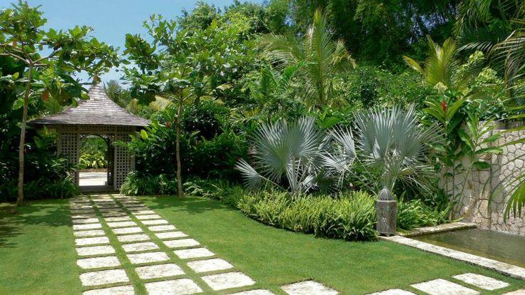 Tropical Garden Design for Eco Friendly Home My Secret Garden