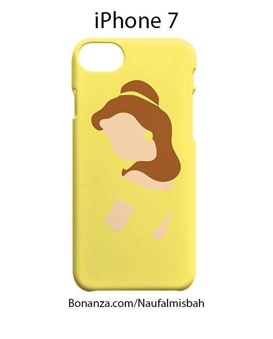 Belle Silhouette Minimalist iPhone 7 Case Cover Wrap Around
