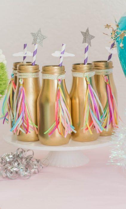 Pastel colors unicorn birthday party inspiration