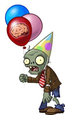 plants vs zombies birthday - Buscar con Google                                                                                                                                                      Más