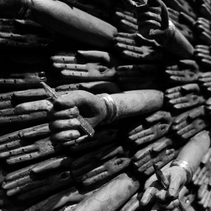 Detail art by Lu Yang- China Pavilion - Venice Biennale