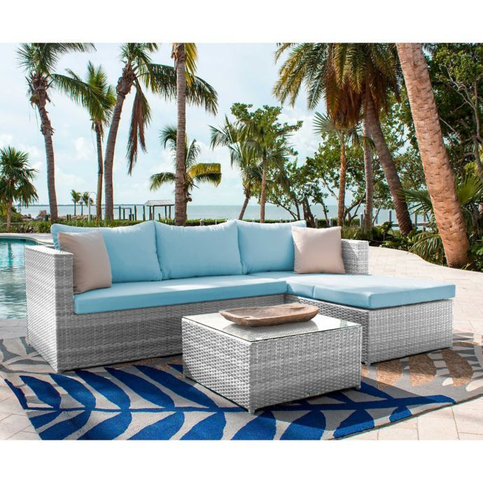 Athens Patio Furniture Collection In White Wash Bed Bath