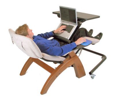 bahahaha The perfect computer chair!
