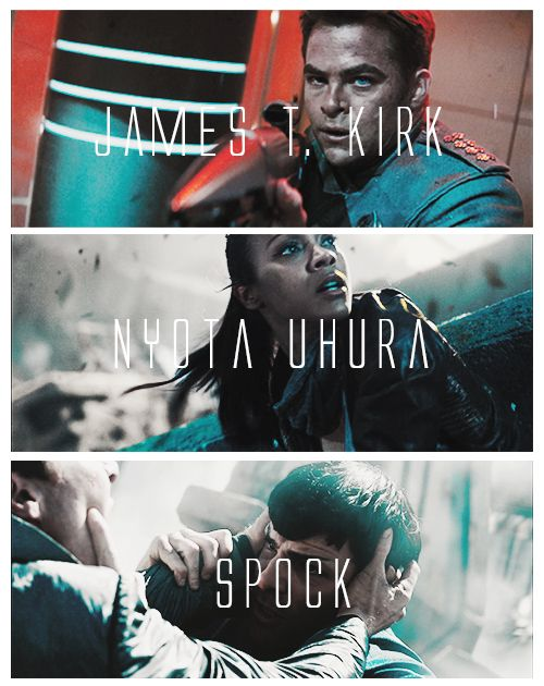 Star Trek Into Darkness | Kirk, Uhura & Spock