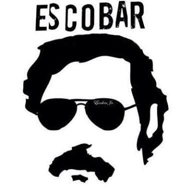 La imagen de Pablo Escobar en Madrid