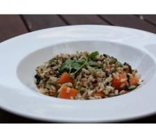 """Brown Rice, Quinoa, & Pumpkin Salad """"Solar Springs"""" 
