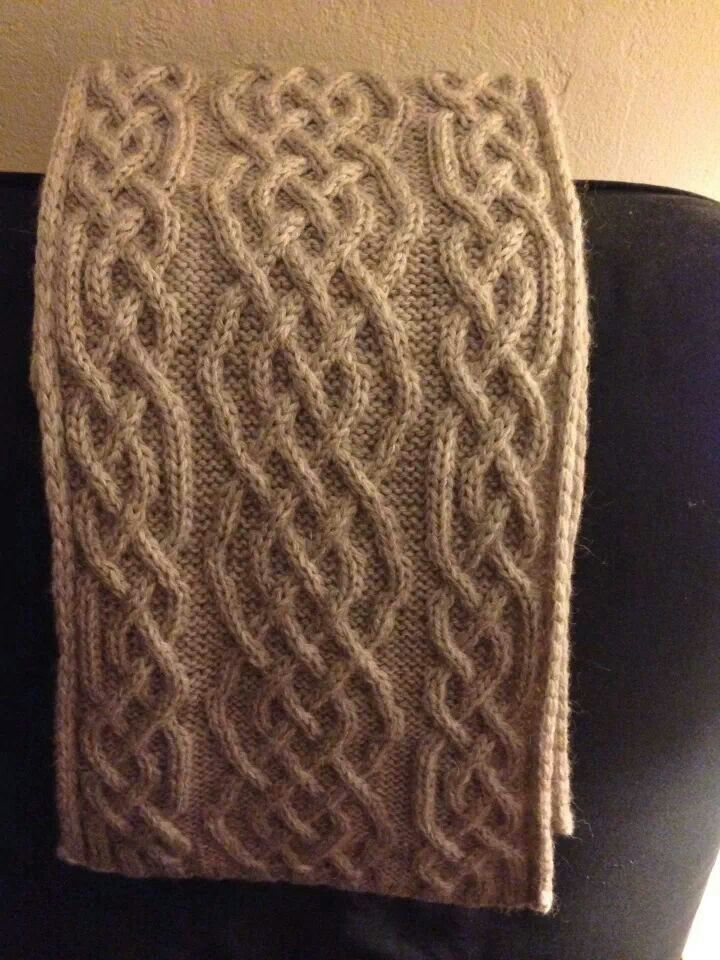 Celtic Knot Scarf Knitting Pattern : Pinterest   The world s catalog of ideas