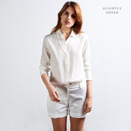 Classic Rounded - White – Everlane