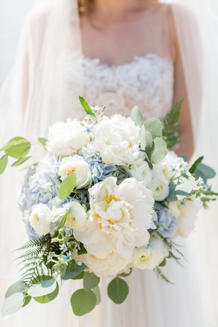 Light Blue Hydrangea Wedding Bouquets Best Bouquet Ideas On