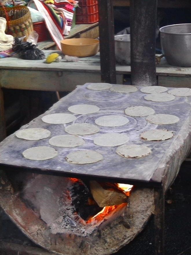 Mercado de Chichicastenango - Guatemala>>> Tortillas !!!