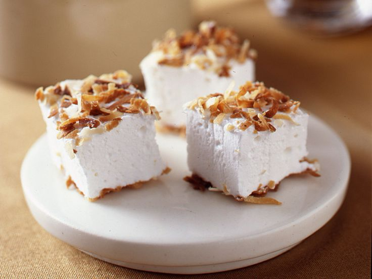 Toasted Coconut Marshmallows recipe from Ina Garten via Food Network