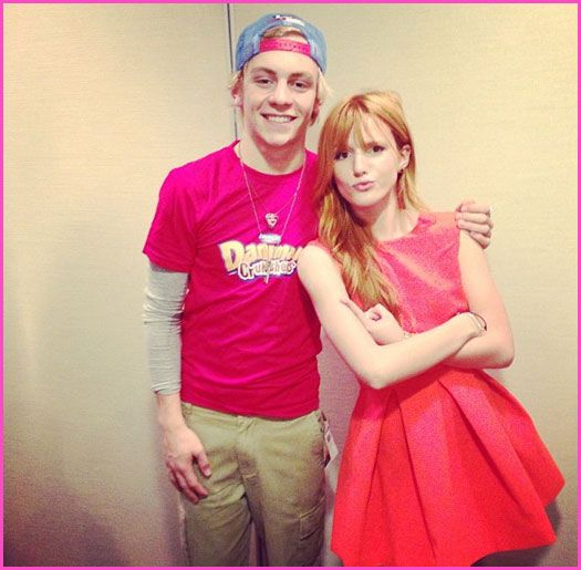 Ross Lynch Joins Bella Thorne For The Danimals Campaign In Mexico