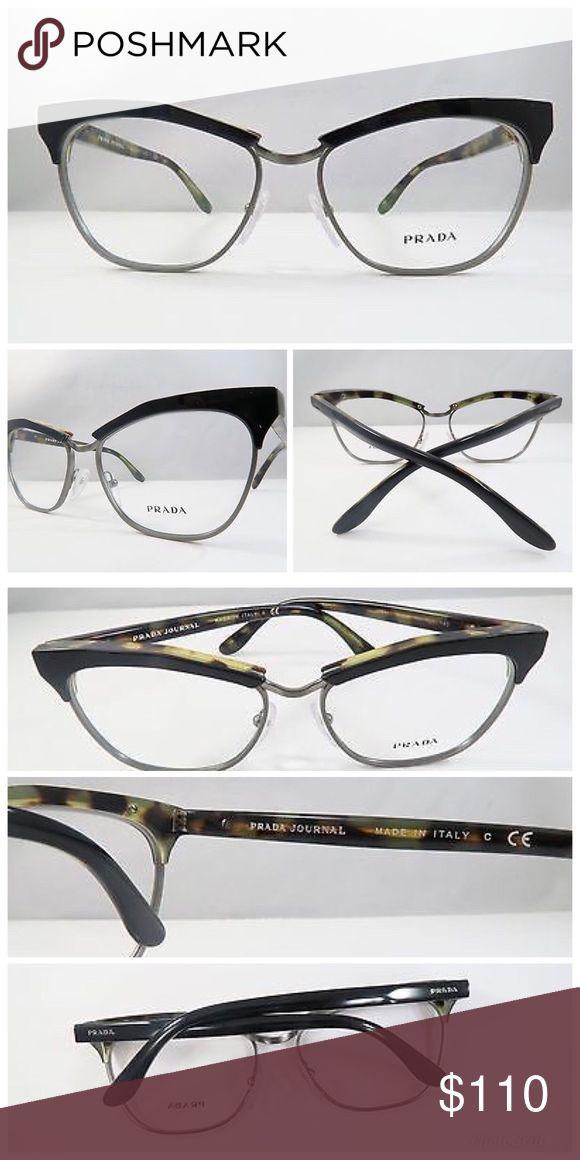 e71dec4c143e Prada Journal Black   Havana Print Glasses Prada Journal Black   Havana  Print Glasses. 53mm 16mm 140mm. 💕Never used💕 Includes case and…