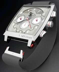Tag Heuer Monaco Watch Re-thought By Parsons School Of Design