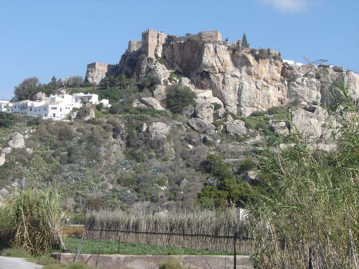 Castillo Salobreña © Robert Bovington