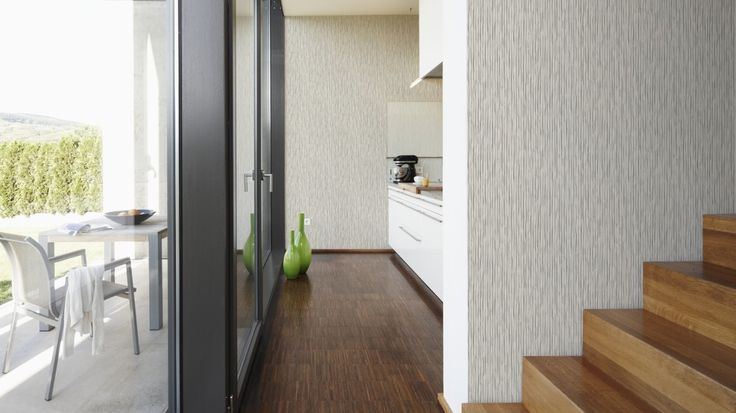 Moderní designové tapety Daniel Hechter - 3D vzor pásky šedá - od www.e-color.cz