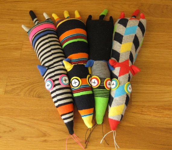 mouse sock toys