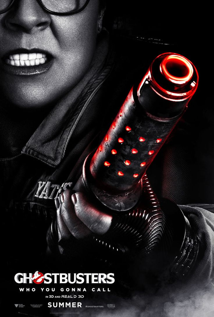 These New Ghostbusters Character Posters Are Just Badass
