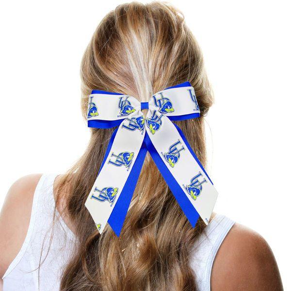 Delaware Fightin' Blue Hens Women's Jumbo Cheer Ponytail Holder