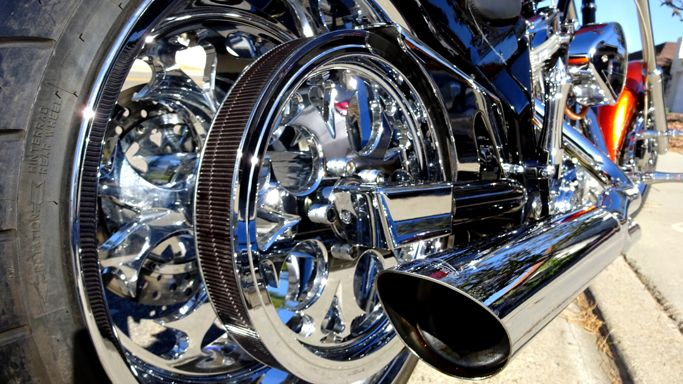 American Ironhorse Texas Chopper - Custom Motorcycles San Diego California