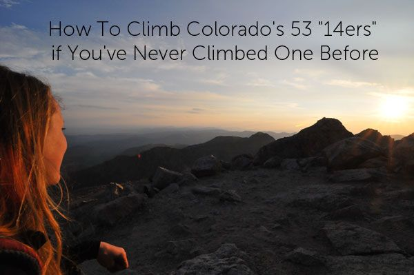 Been dreaming of hiking all of Colorado's Fourteeners? Never hiked one before? Lots of great tips to be found here!