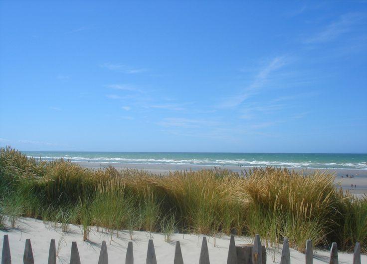 Dunes et mer Quend-Plage-Les-Pins