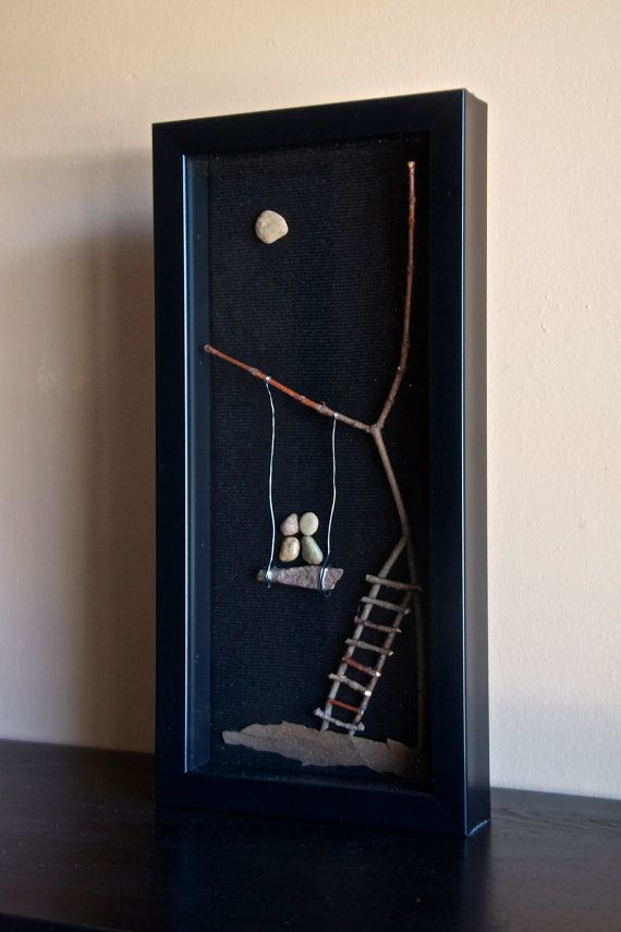 Awesome Shadowbox Art Made of Sticks and by sticksandstonesrock, $40.00