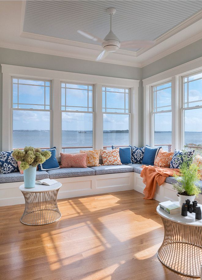 25 best ideas about house windows on pinterest beach style windows beach style benches and - Amazing image of sunroom interior design and decoration ...