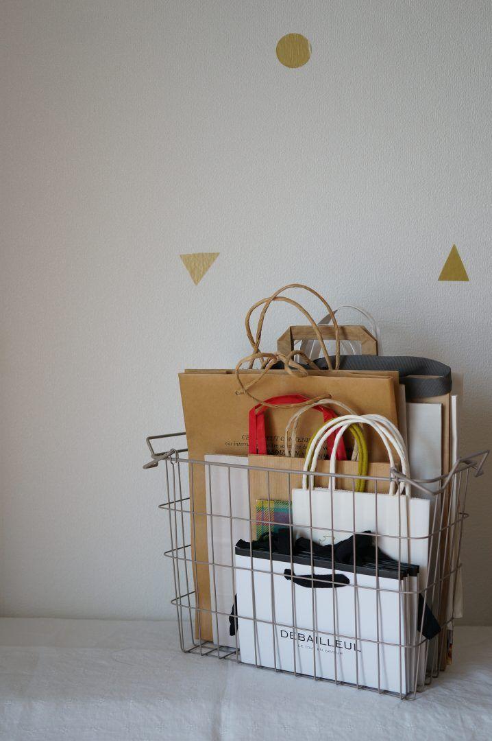 <柳沢小実の暮らしを快適にする整理収納>たまりがちな紙袋やレジ袋をゴミ箱代わりに使う   紙袋を持っていていい量の目安   64909