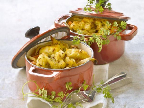 Vispannetje met saffraan - Tijd om mijn gietijzer potjes eens te gebruiken!