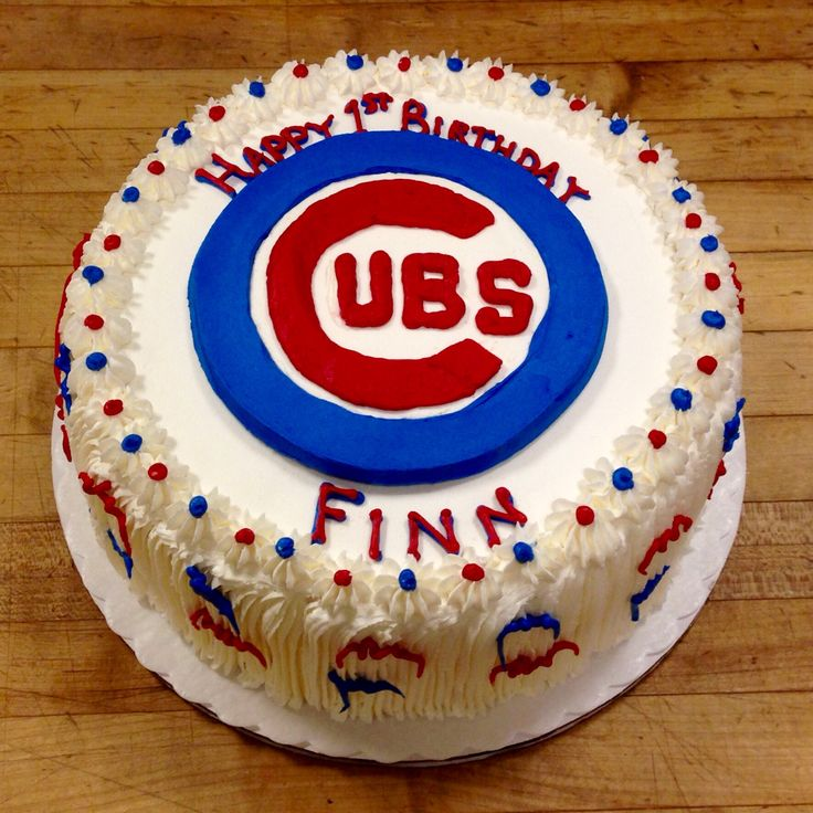 34 Best Chicago Cubs Cakes Images On Pinterest: 17 Best Images About Birthday Cakes On Pinterest