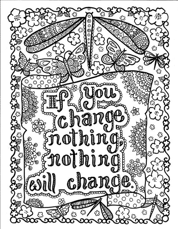 Be Brave Coloring Book Instant Download Insyant Download 5 Pages Of Instant Coloring Fun I In 2020 Quote Coloring Pages Love Coloring Pages Printable Coloring Pages