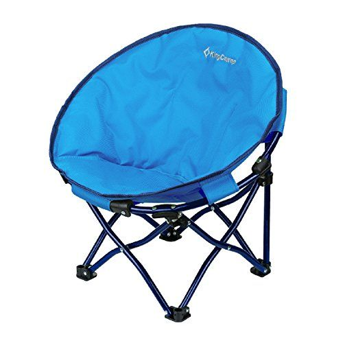 KingCamp Cute Saucer Chair Moon Round Mini Size Ultralight Portable Compact Folding with Safe Lock for Camping Picnic Outdoor with Carry Bag. For product & price info go to:  https://all4hiking.com/products/kingcamp-cute-saucer-chair-moon-round-mini-size-ultralight-portable-compact-folding-with-safe-lock-for-camping-picnic-outdoor-with-carry-bag/