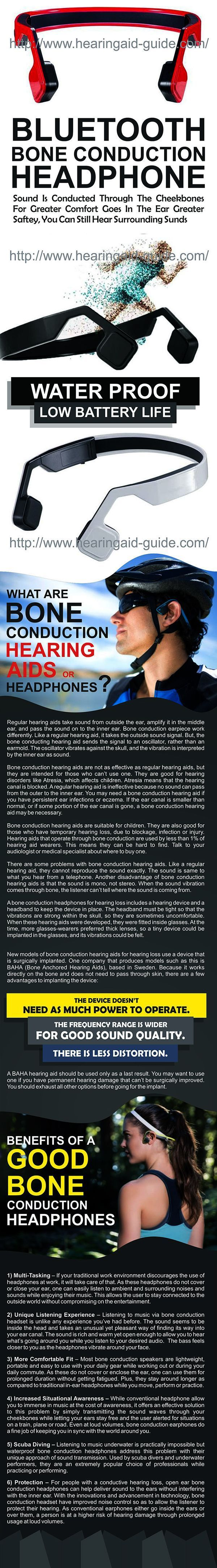 Best Bone Conduction Headphones Ever.....:) XOXO Best for those who can't wear Hearing aids due to their ear problems & it also future of headphones because it also used by others like for listening music which gives extremely joy to listen a soft or rocking song & for other activities too... #BestTinnitusRemedies