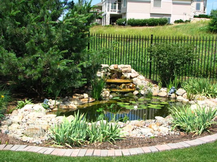 11 best images about pond fencing on pinterest for Garden pond building instructions